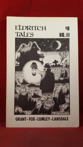Crispin Burnham -  Eldritch Tales, Volume 3 Number 2, Whole 11 1985
