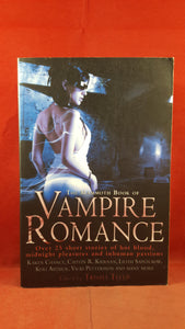Trisha Telep - The Mammoth Book of Vampire Romance, Robinson, 2008