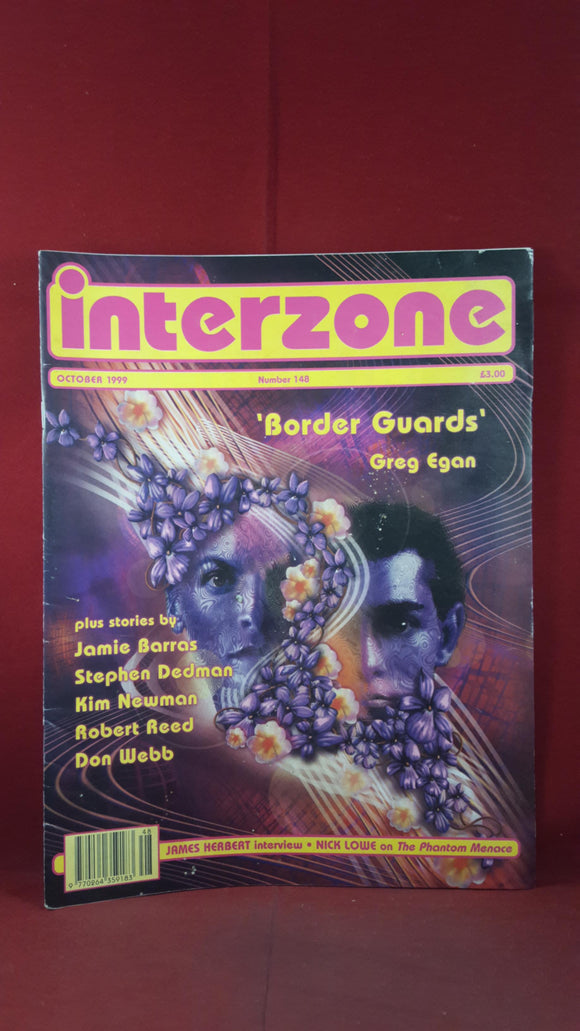 David Pringle - Interzone Science Fiction & Fantasy, Number 148, October 1999