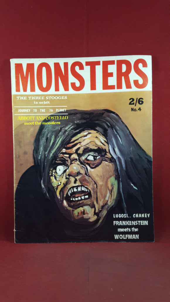Mad Monsters Number 5 1963