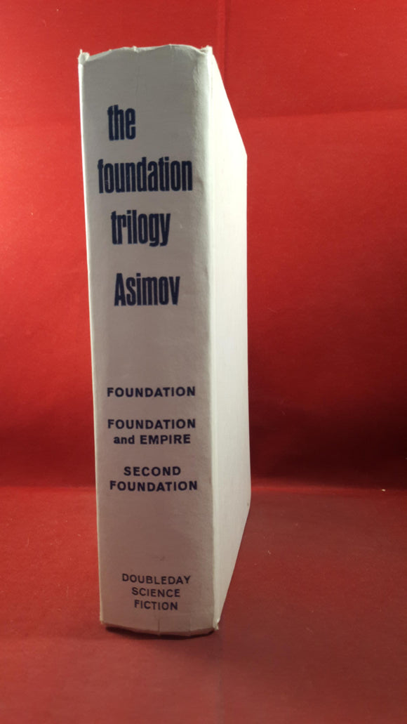 Isaac Asimov - The Foundation Trilogy, 3 Classics of Science Fiction, Doubleday, 1951