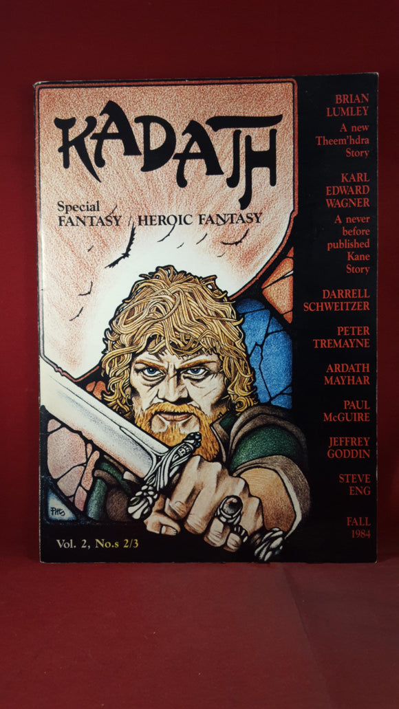 Kadath - Special fantasy Volume 2 Number 2/3 Fall 1984, Limited, Signed Peter Tremayne