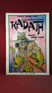 Kadath - Special Weird Tales Volume 1 Number 4 July 1981, Limited 29/100, Signed