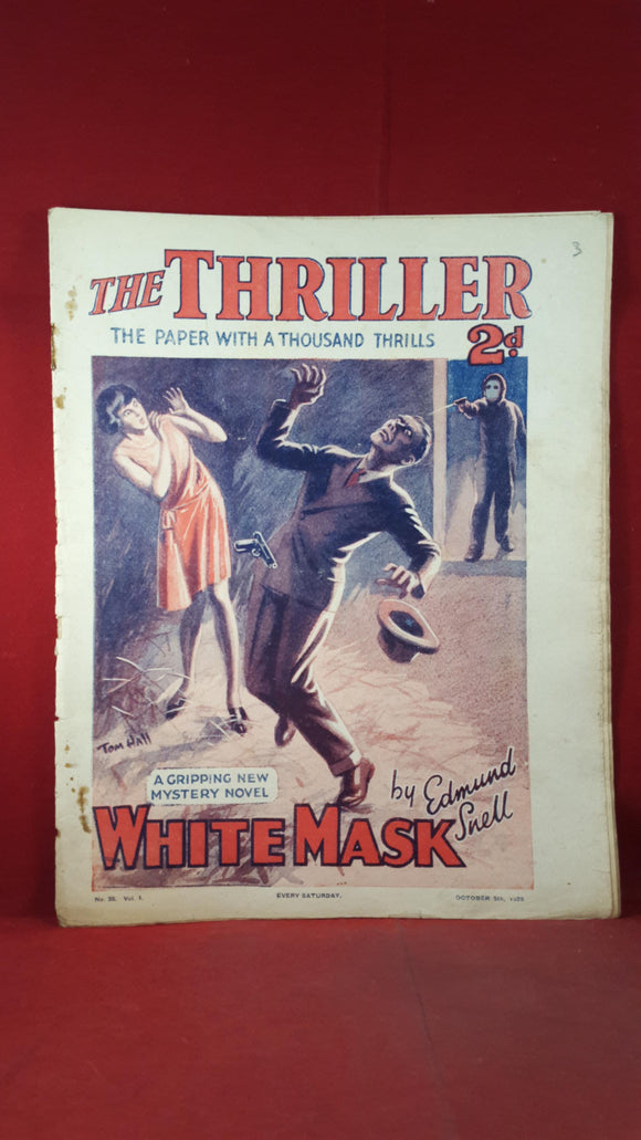 The Thriller Volume 1 Number 35 October 5th 1929
