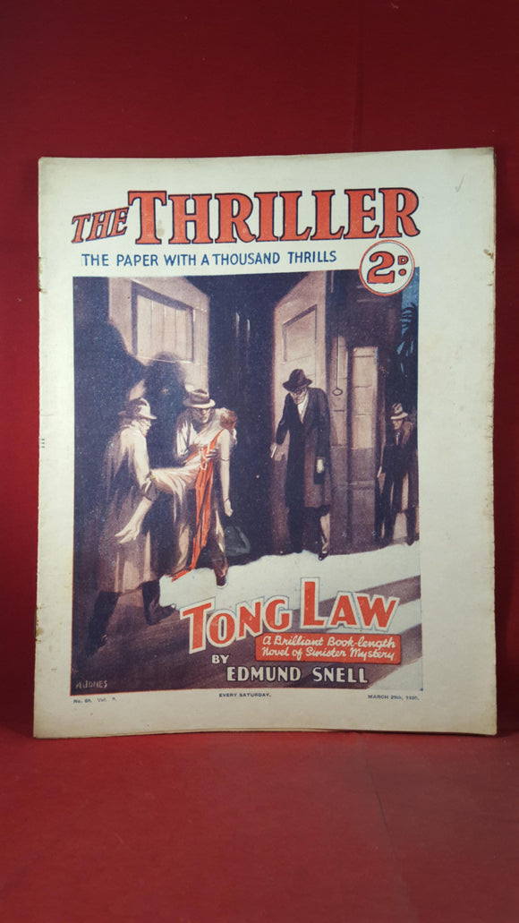 The Thriller Volume 2 Number 60 March 29th 1930