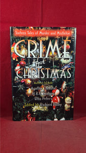 Richard Dalby - Crime for Christmas, Barnes & Noble, 1991, First Edition