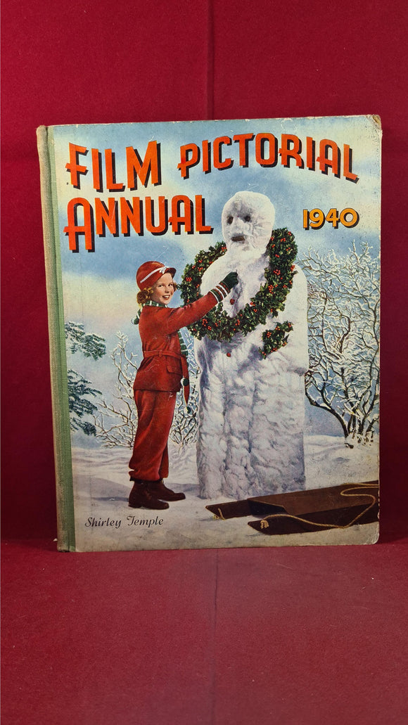 Film Pictorial Annual 1940, Front cover Shirley Temple