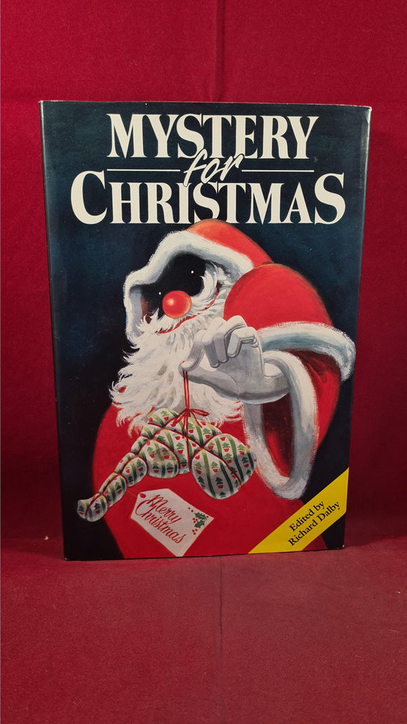 Richard Dalby - Mystery for Christmas, Gallery Books, 1990, First US Edition