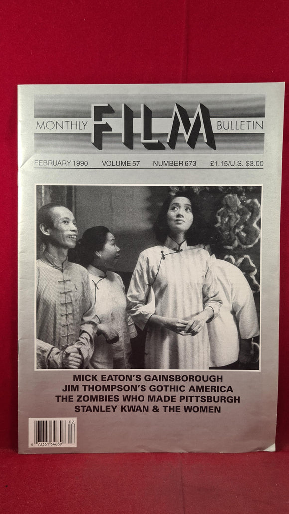 Monthly Film Bulletin Volume 57 Number 673 February 1990