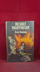 Peter Haining - Deadly Nightshade, Gollancz, 1977