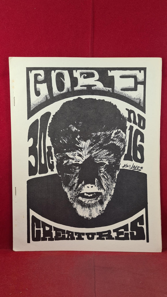 Gore Creatures 16 September 1969