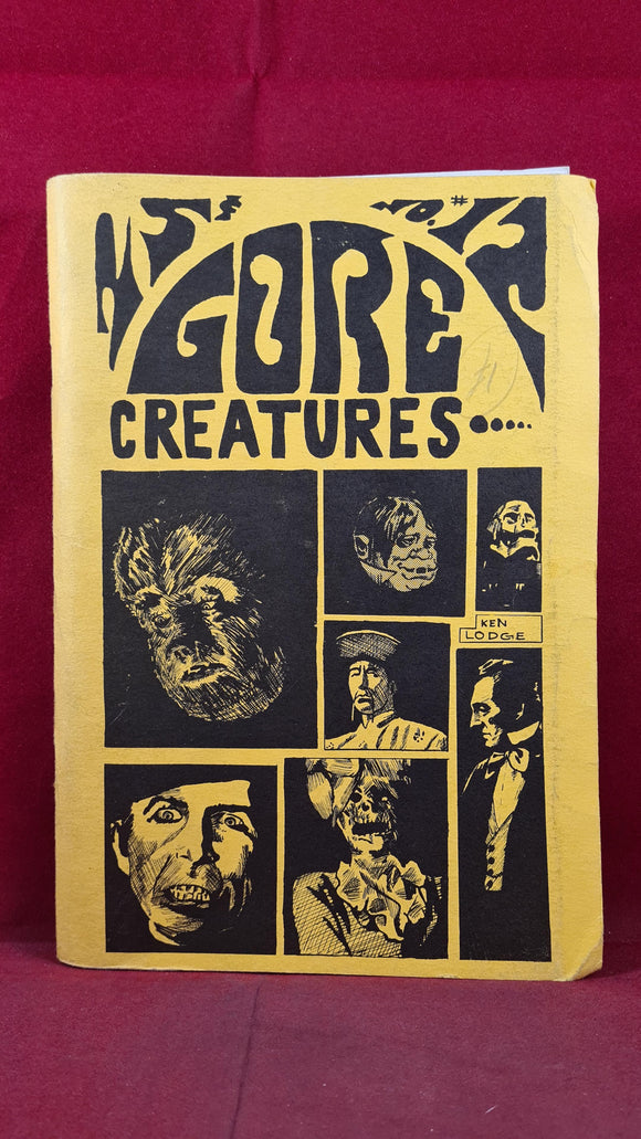 Gore Creatures 12 Volume 3 Number 2 September 1967, Inscribed, Signed