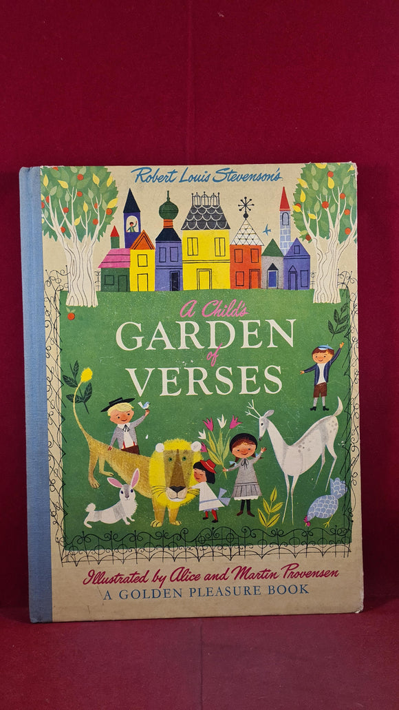 Robert Louis Stevenson - A Child's Garden of Verses, Golden Pleasure, 1951
