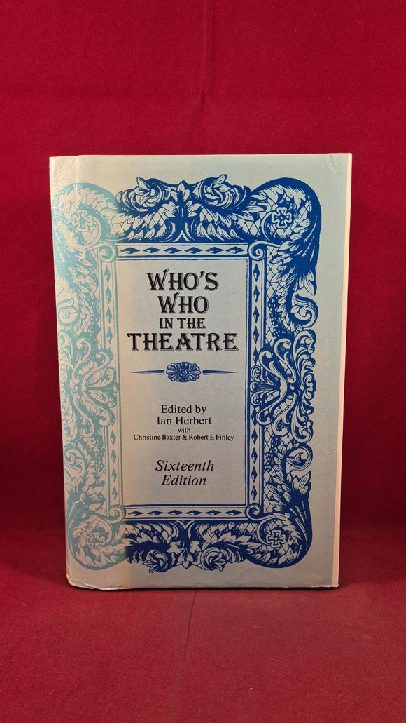 Ian Herbert - Who's Who in the Theatre, Pitman, 1977