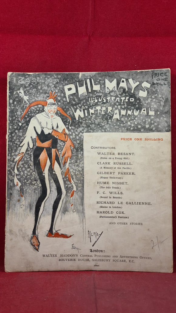 Phil Mays Illustrated Winter Annual 1893