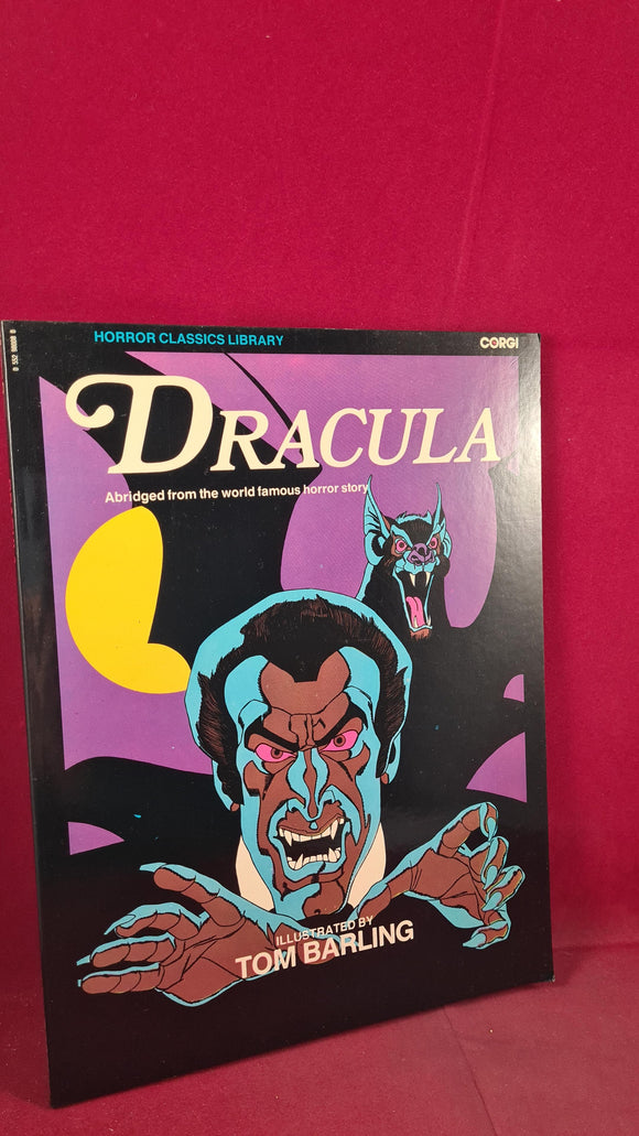 Bram Stoker - Dracula, Corgi Books, 1976, Abridged Paperbacks Version