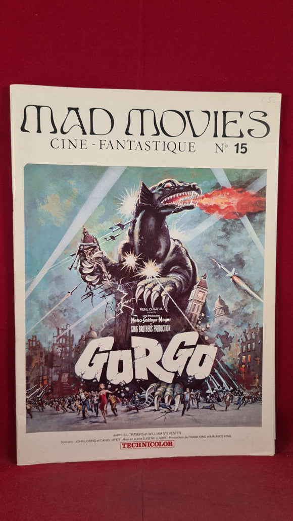 Mad Movies  Cine - Fantastique, Number 15, March 1977, French Magazine
