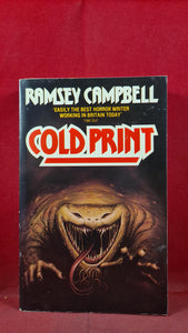 Ramsey Campbell - Cold Print, Grafton Books, 1987, Paperbacks