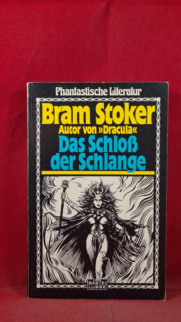 Bram Stoker - The Castle The Snake, Fantastic Stories, German Edition, Paperbacks
