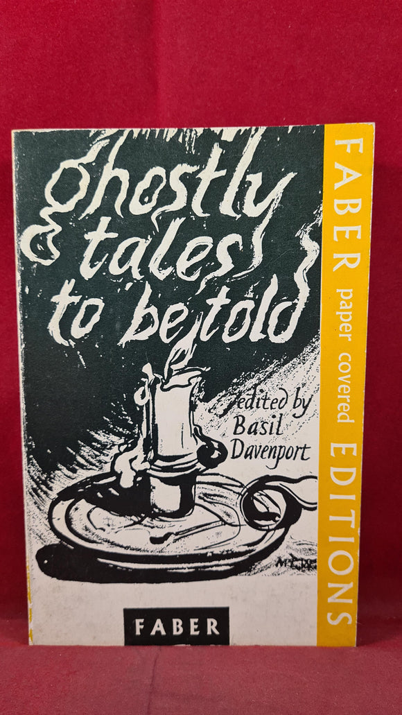 Basil Davenport - Ghostly Tales to be told, Faber & Faber, 1963, Paperbacks