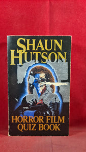 FREE WHEN PURCHASED WITH ANOTHER BOOK Shaun Hutson-Horror Film Quiz Book