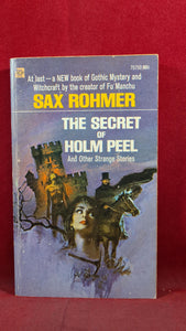 Sax Rohmer-The Secret of Holm Peel & other strange stories, Ace Books, 1970, Paperbacks