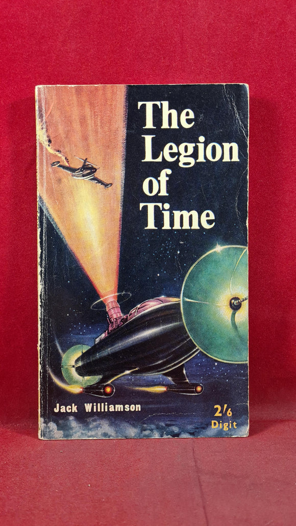 Jack Williamson - The Legion of Time, Brown Watson, 1952, First UK Edition, Paperbacks