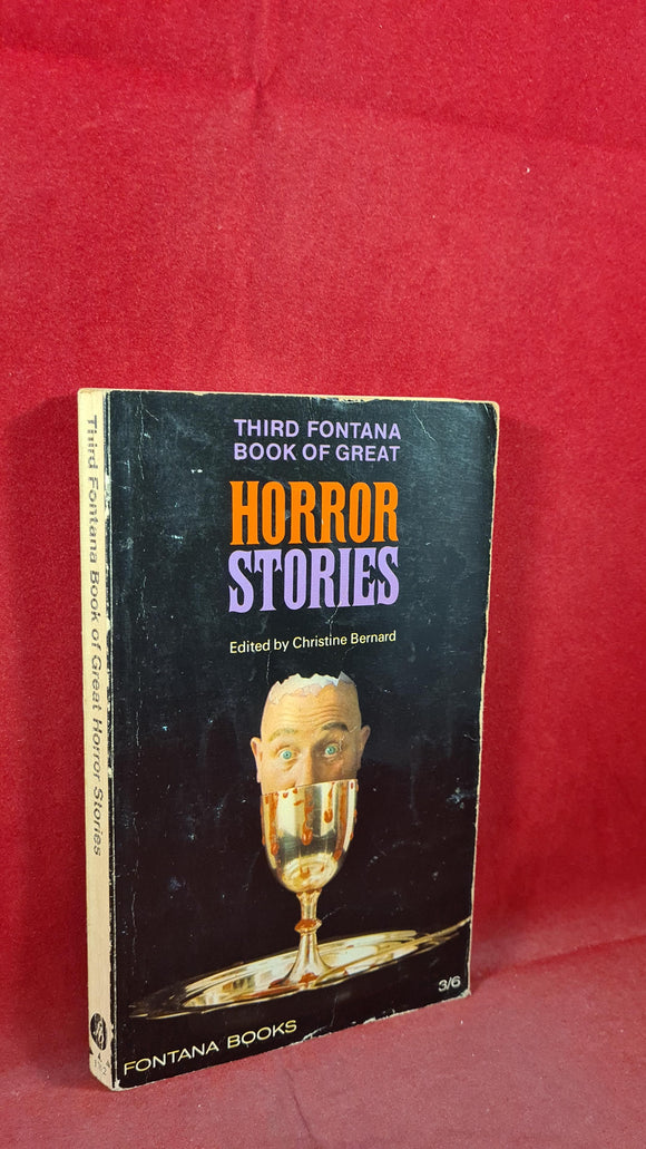 Christine Bernard - Horror Stories, Third Fontana Books, 1968, Paperbacks