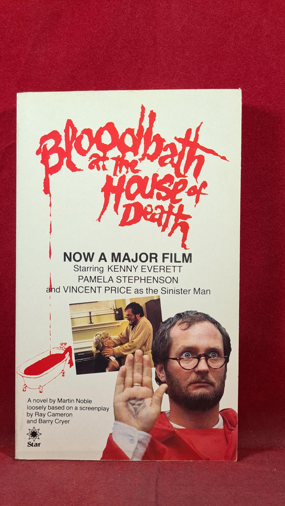 Martin Noble - Bloodbath at the House of Death, Star Book, 1984, Paperbacks