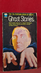 Robert Aickman - Ghost Stories, 7th Fontana Book, 1971, First Edition, Paperbacks