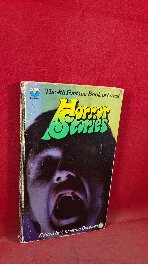 Christine Bernard - Horror Stories, 4th Fontana Books, 1969, Paperbacks