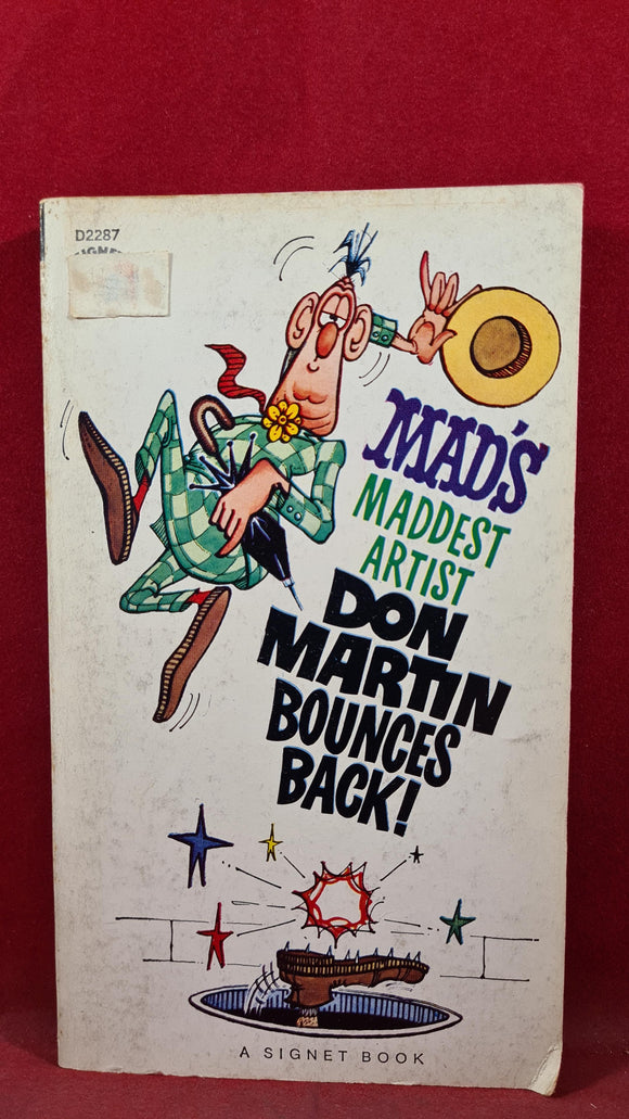 Don Martin - Mad's Maddest Artist Don Martin Bounces Back! Signet, 1st Printing  1963