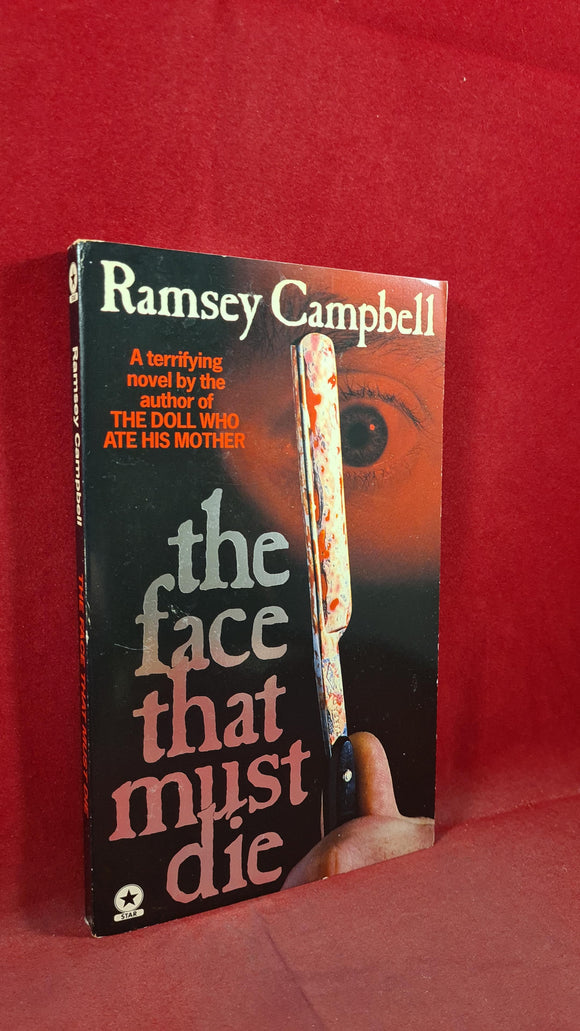 Ramsey Campbell - The Face That Must Die, Star Book, 1979, Signed, Paperbacks