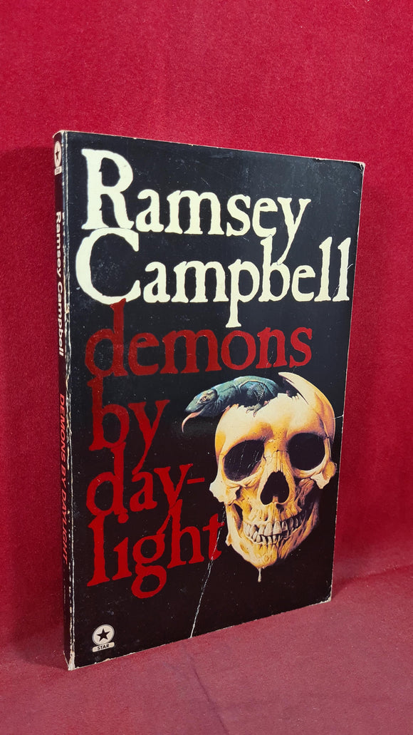 Ramsey Campbell - Demons by Daylight, Star Book, 1980, Paperbacks