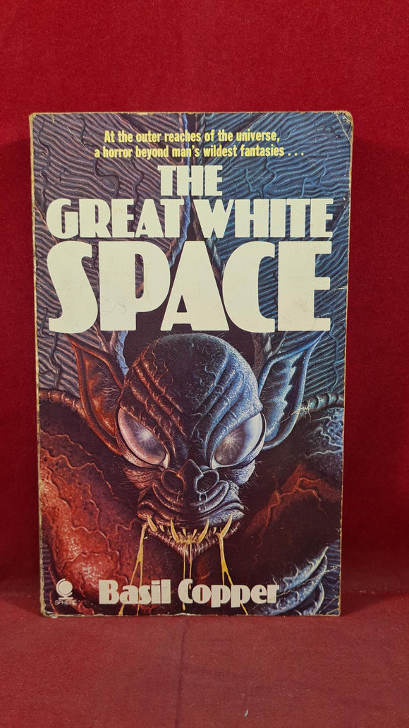 Basil Copper - The Great White Space, Sphere, 1980, Paperbacks