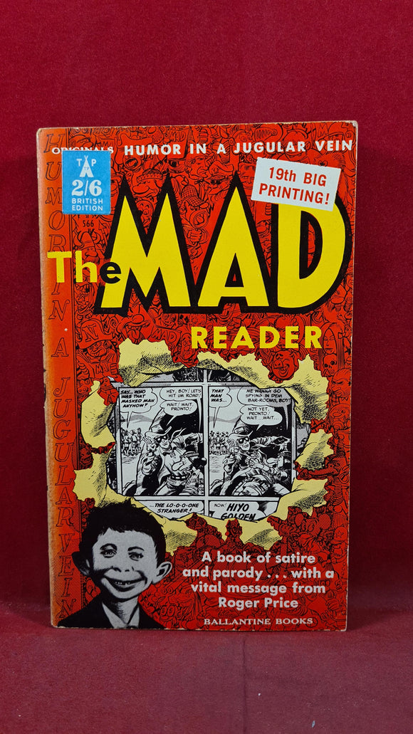 Roger Price - The Mad Reader, Ballantine Books, 1962, Paperbacks