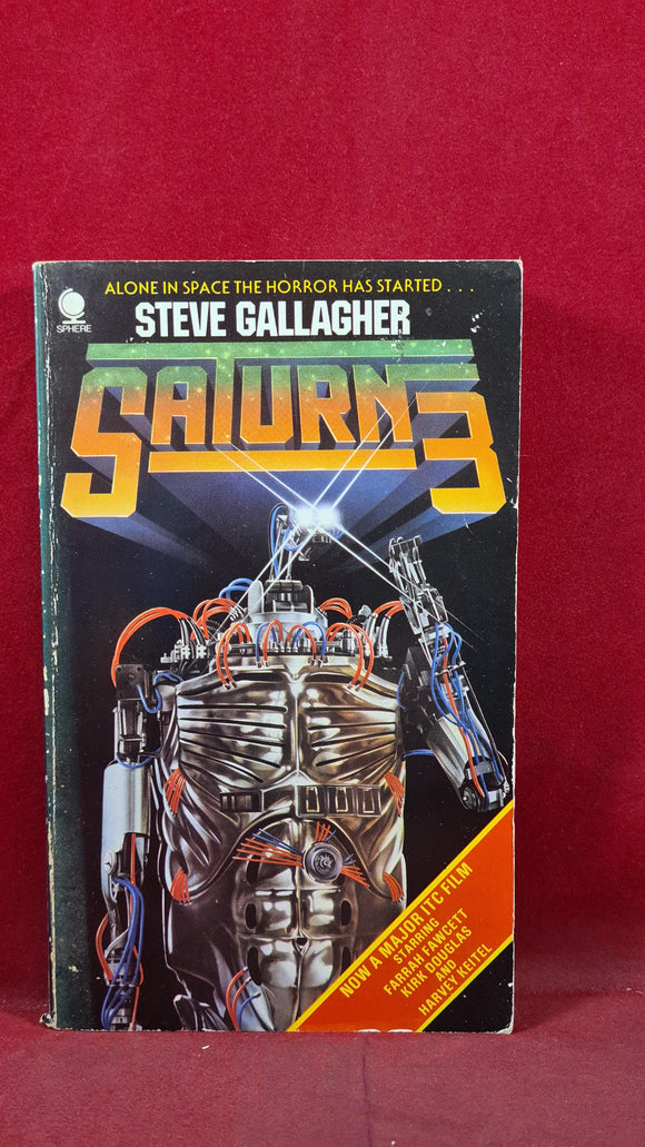 Steve Gallagher - Saturn3, Sphere Books, 1980, Paperbacks