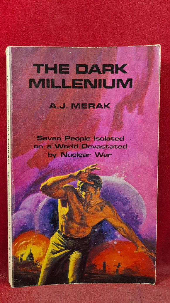 A J Merak - The Dark Millenium, Spencer Publications, 1978, Inscribed, Signed, Paperbacks