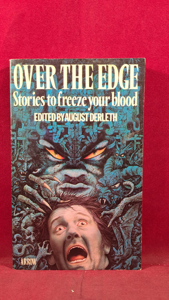 August Derleth - Over The Edge, Arrow Books, 1976, Paperbacks