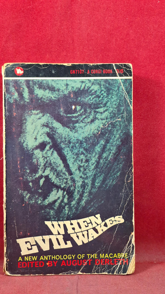 August Derleth - When Evil Wakes, Corgi Books, 1965, Paperbacks, John Metcalfe