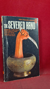 Errol Lecale - The Severed Hand, New English Library, 1974, First Edition, Paperbacks