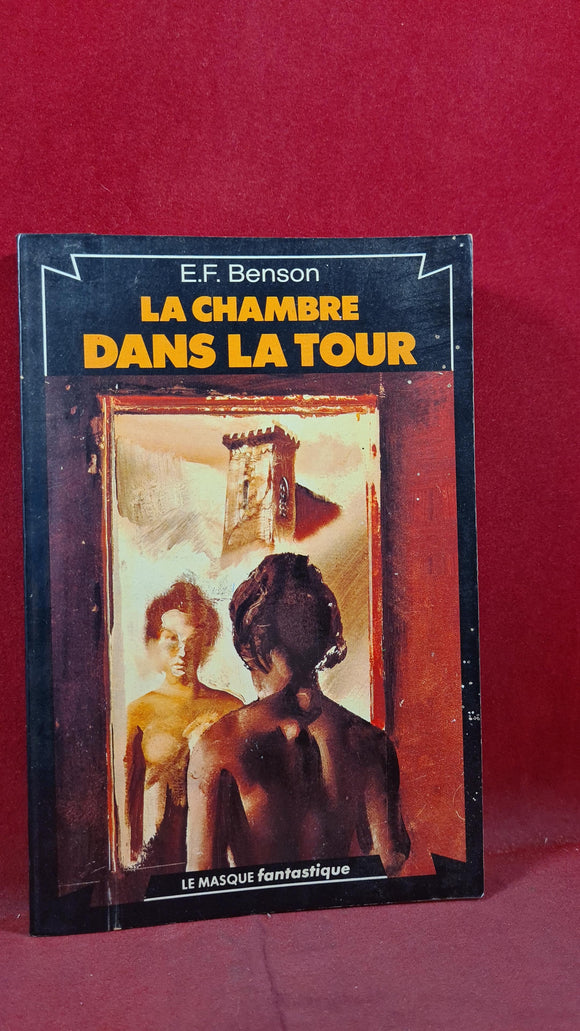 E F Benson -Bedroom in the Tower, Le masque Paris, 1978, Signed, Inscribed, Paperbacks
