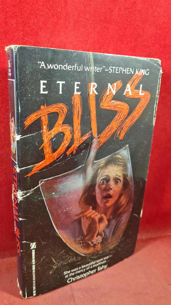 Christopher Fahy - Eternal Bliss, Zebra Books, 1988, First Printing, Paperbacks