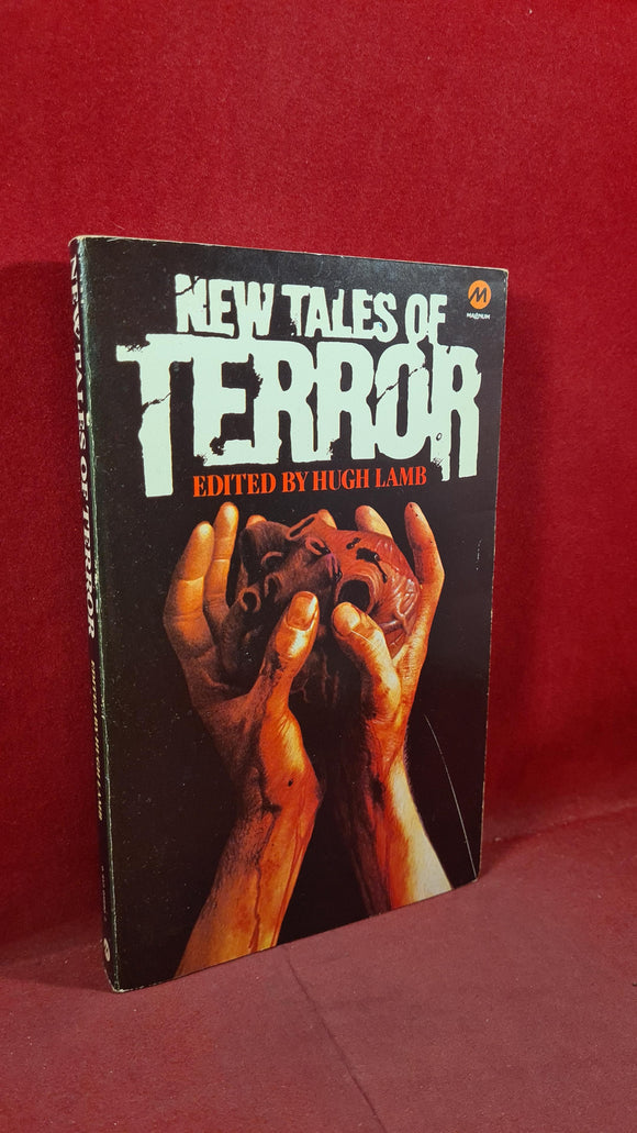 Hugh Lamb - New Tales of Terror, Magnum, 1980, Inscribed, Signed, Paperbacks