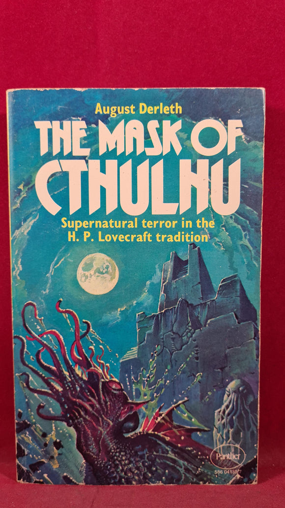 August Derleth - The Mask of Cthulhu, Panther, 1976, Paperbacks
