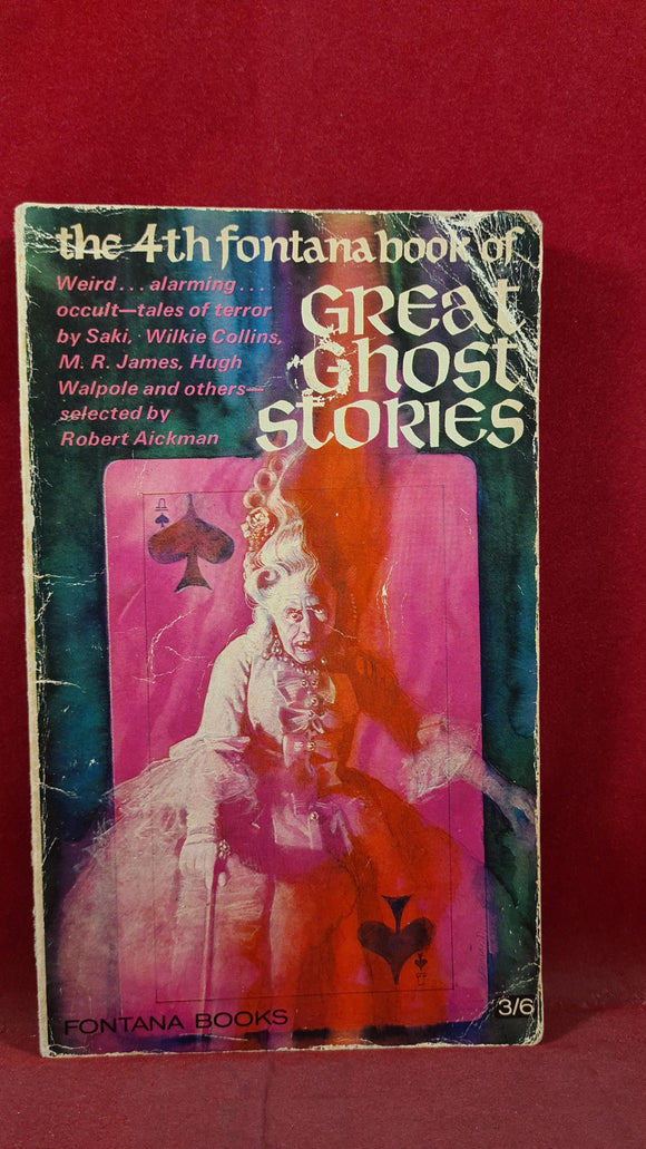 Robert Aickman - 4th Fontana book of Great Ghost Stories, 1967, Paperbacks