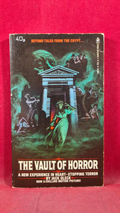 Jack Oleck - The Vault of Horror, Bantam Books, 1973, Paperbacks