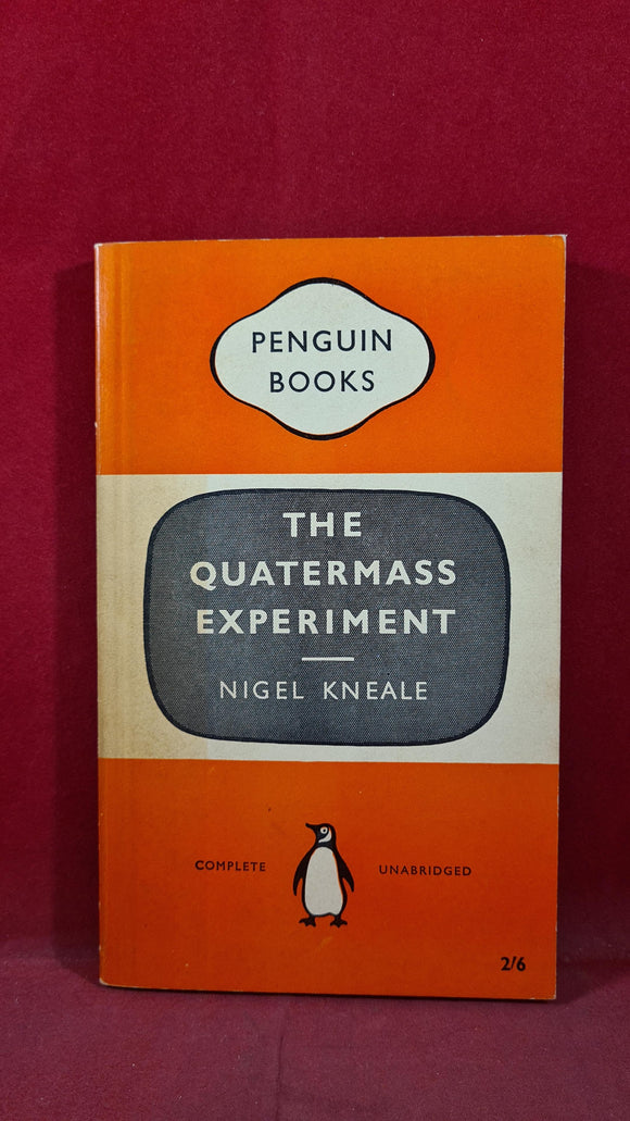 Nigel Kneale - The Quatermass Experiment, Penguin Books, 1959, First Edition, Paperbacks