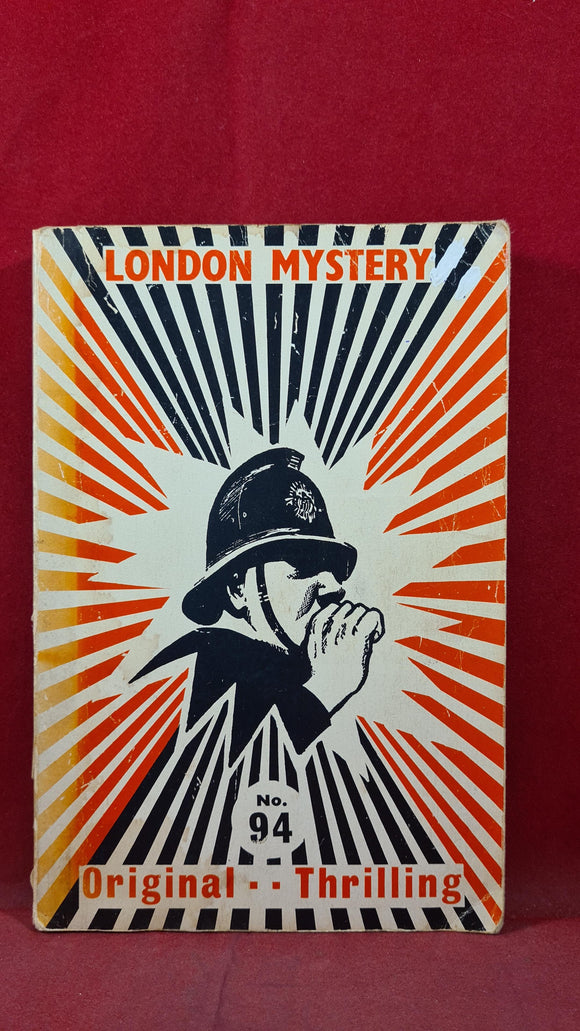 London Mystery Selection Volume 22 Number 94 September 1972, Paperbacks