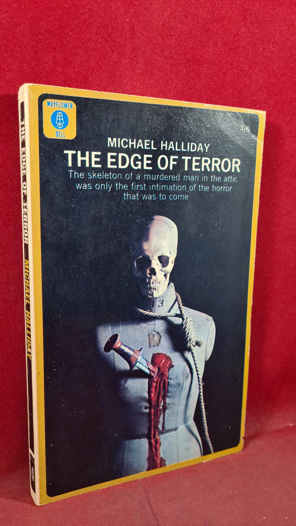 Michael Halliday - The Edge of Terror, Mayflower-Dell, 1966, Paperbacks